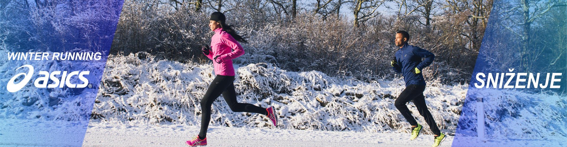 Asics Winter running sniženje