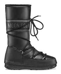 MOON BOOT HIGH NYLON WP BLACK