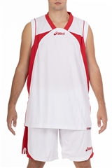 Set Suns, dres wht/red