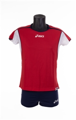 Set Attack Lady red/navy