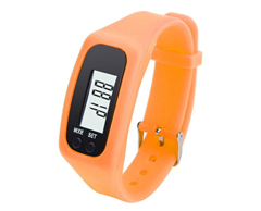 Pedometer Wrist Watch 3d Senor