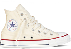 All Star krem HI Top